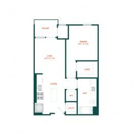 Floor Plan B1.2