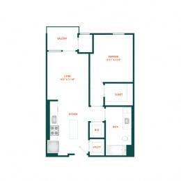 Floor Plan B1.3