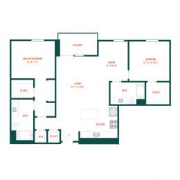 Floor Plan C9
