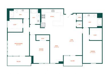 Floor Plan D1.1