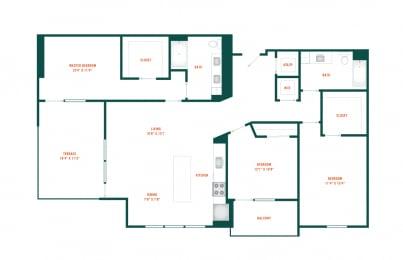 Floor Plan D2.1