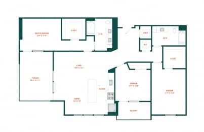 Floor Plan D2