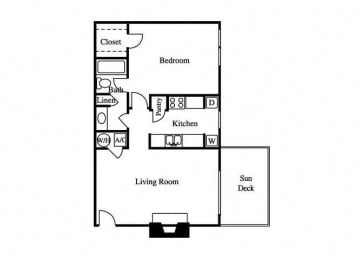 floorplan layout for the aster