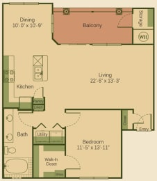 one bedroom apartments in cedar park, opens a dialog