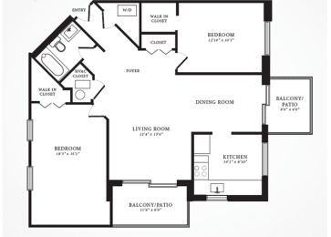 Floor Plan Willow II, opens a dialog