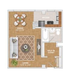 The Manor floorplan at Bridgeyard Old Town, opens a dialog