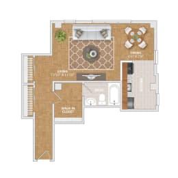 The Vernon floorplan at Bridgeyard Old Town, opens a dialog