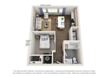 downtown denver apartment unit
