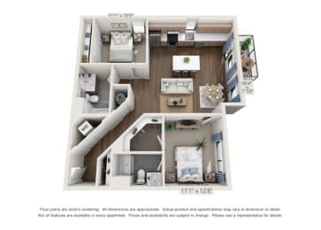 modern two bedroom apartments in denver colorado