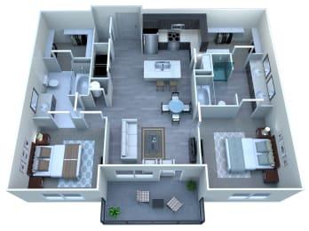 Floor Plan 2x2 With Garage