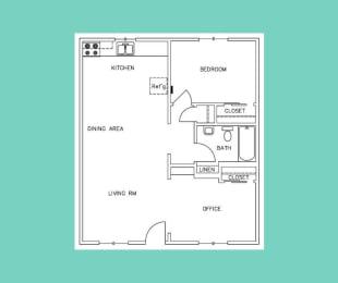 Floor Plan A3 - 2311