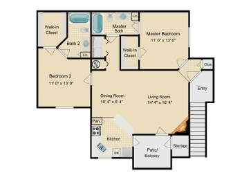 Two Bedroom, opens a dialog