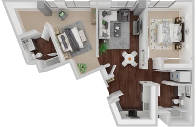 Market Floorplan 2x2