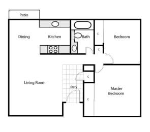 ''The Green'' Floor Plan - Fairway Estates, Manteca, CA