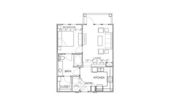 Floor Plan  Acadia-ADA
