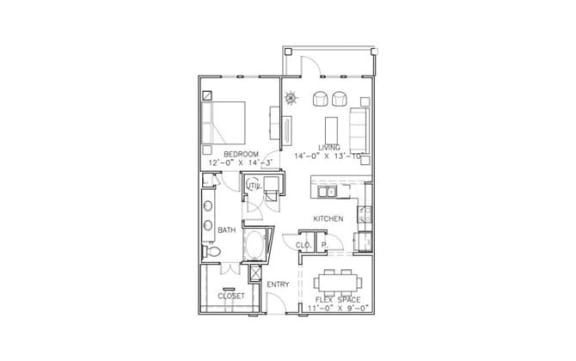 Floor Plan  Claiborne