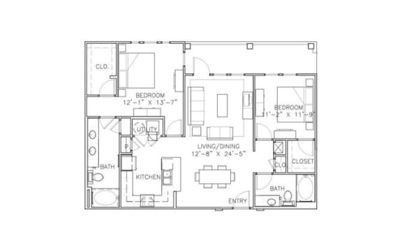 Floor Plan  St. Helena