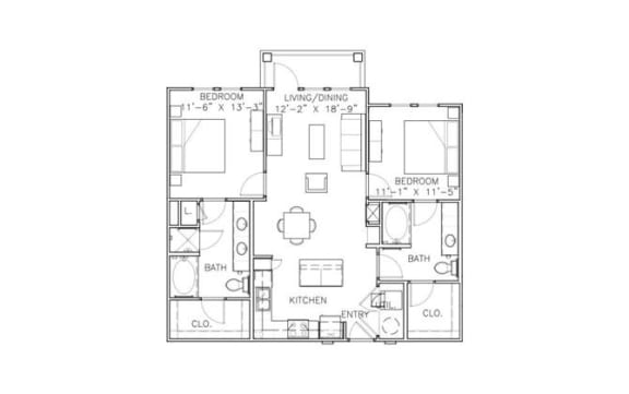 Floor Plan  St. Martin