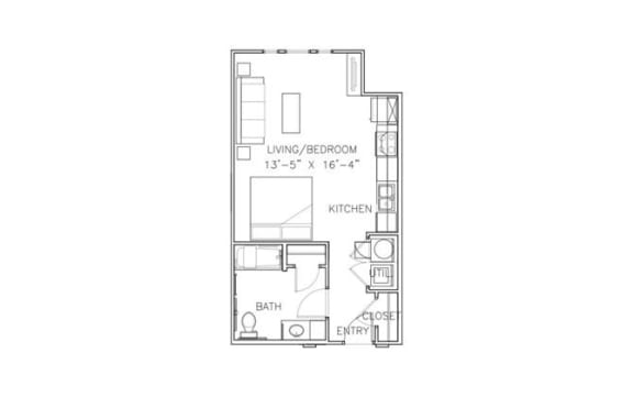 Floor Plan  Natchitoches-ADA