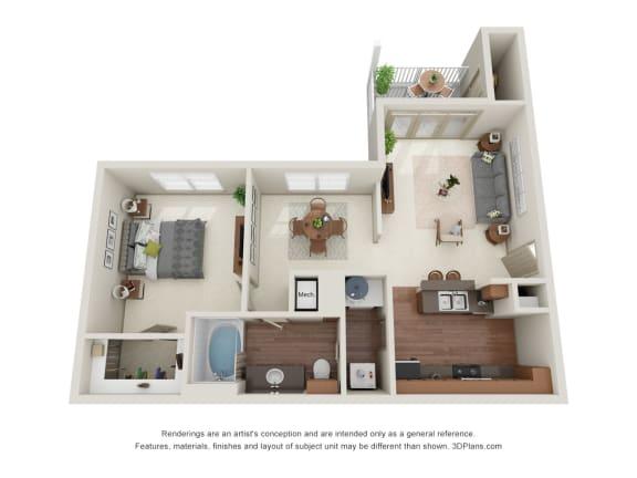 Floor Plan  Apricot 3D Floor Plan
