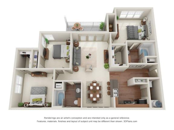 Floor Plan  Cypress 3D Floor Plan
