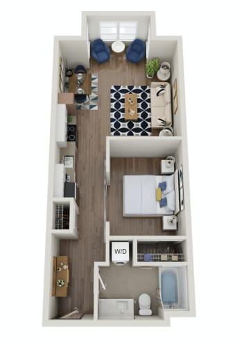 Floor Plan  The Morgan | PDX B