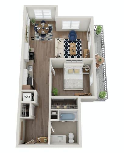 Floor Plan  The Morgan | PDX C