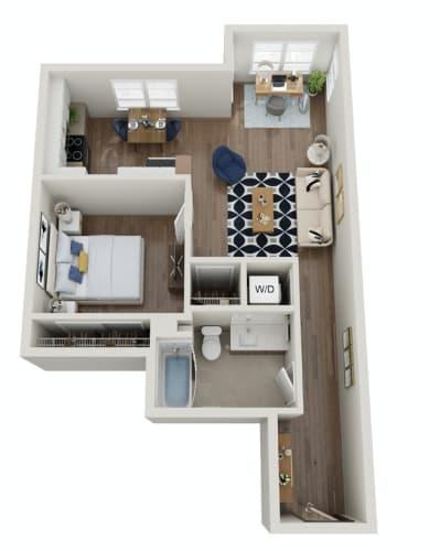 Floor Plan  The Morgan | PDX E
