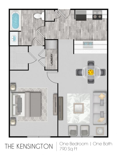 Floor Plan  The Kensington