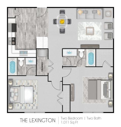 Floor Plan  The Lexington