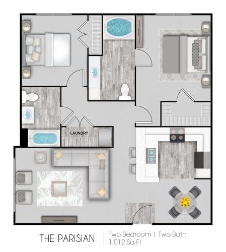 Floor Plan  The Parisian