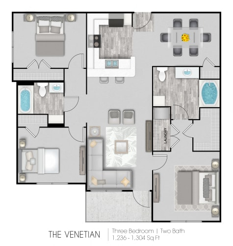 Floor Plan  The Venetian