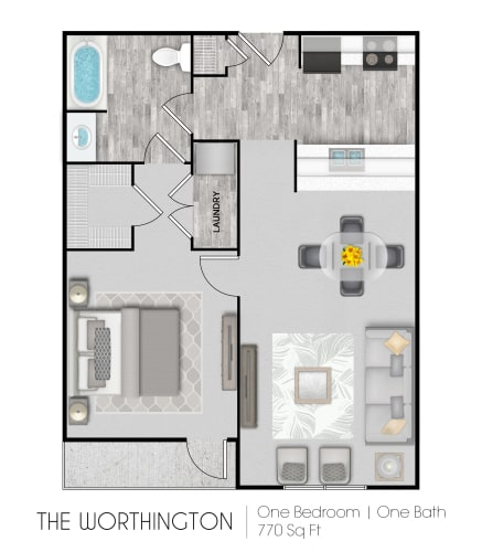 Floor Plan  The Worthington