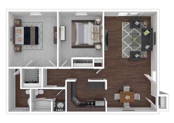 Floor Plan  2/1.5