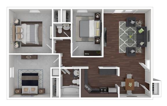 Floor Plan  3/1.5
