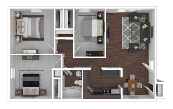 Floor Plan  3/1