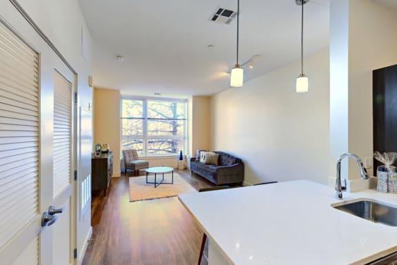 Floor Plan  Kitchen and Living Room