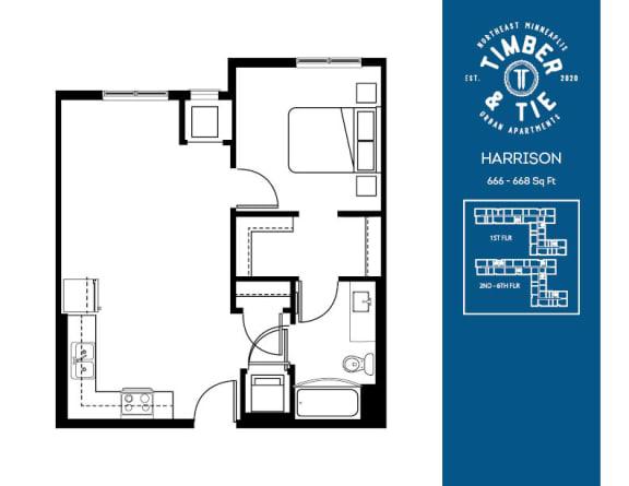 Floor Plan  Harrison