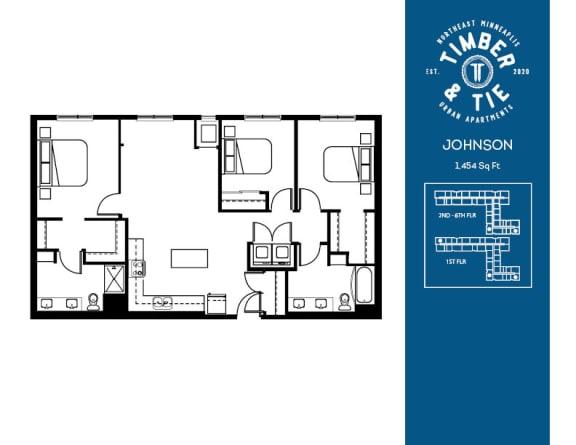 Floor Plan  Johnson
