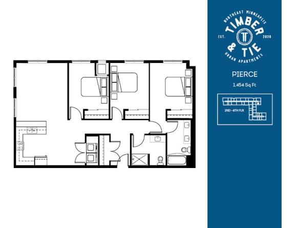 Floor Plan  Pierce