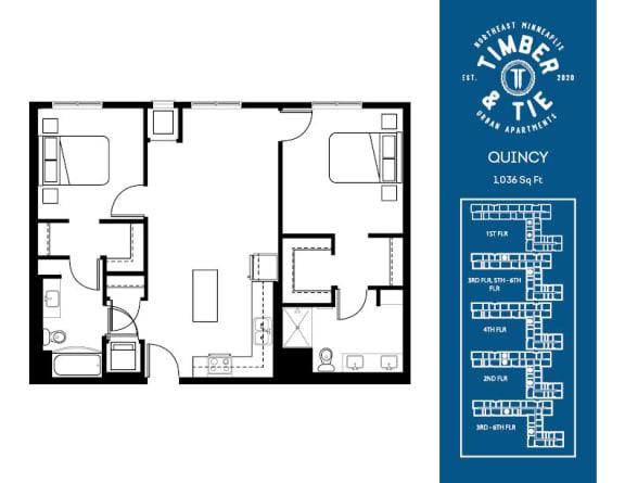 Floor Plan  Quincy