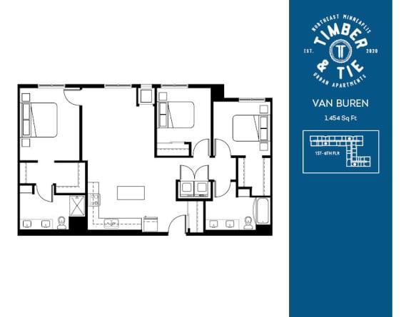 Floor Plan  Van Buren