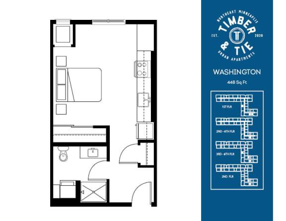Floor Plan  Washington