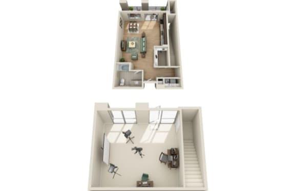 Floor Plan  S3 - Live Work