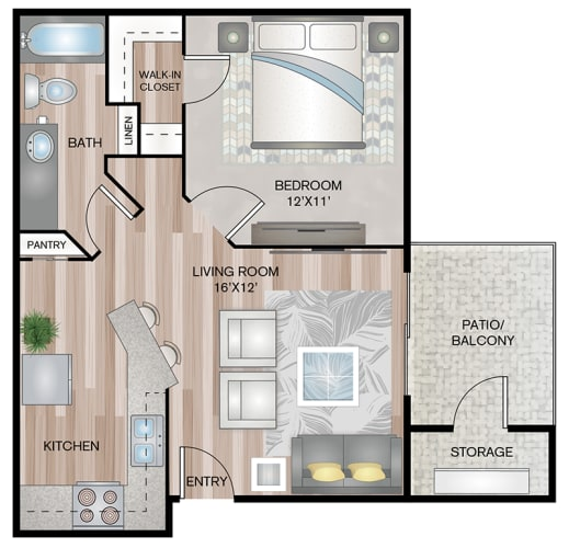 Floor Plan  Eagles Point