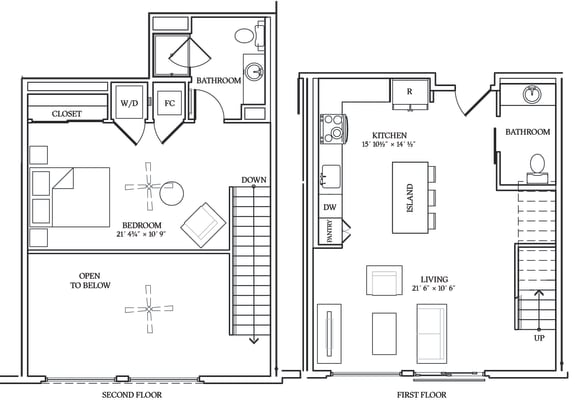 Floor Plan  Aliso L06 924 SF
