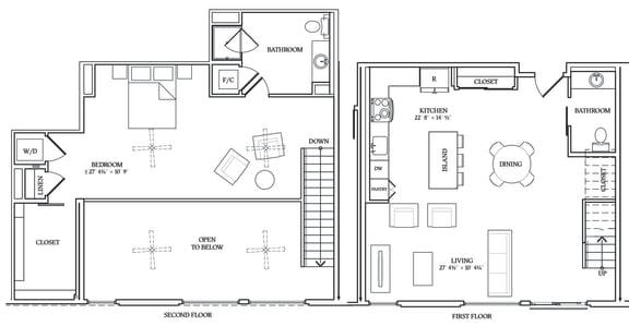 Floor Plan  Aliso L09 1178 SF