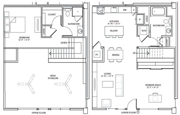Floor Plan  Aliso LW6 1266 SF