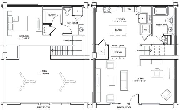 Floor Plan  Aliso LW7 1275 SF