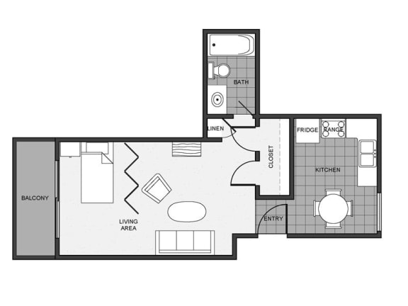 Floor Plan  Mitchell Arms Studio